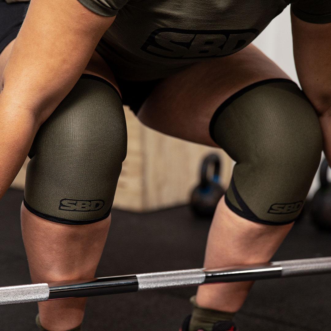 Gewichtheberkniestulpen Endure