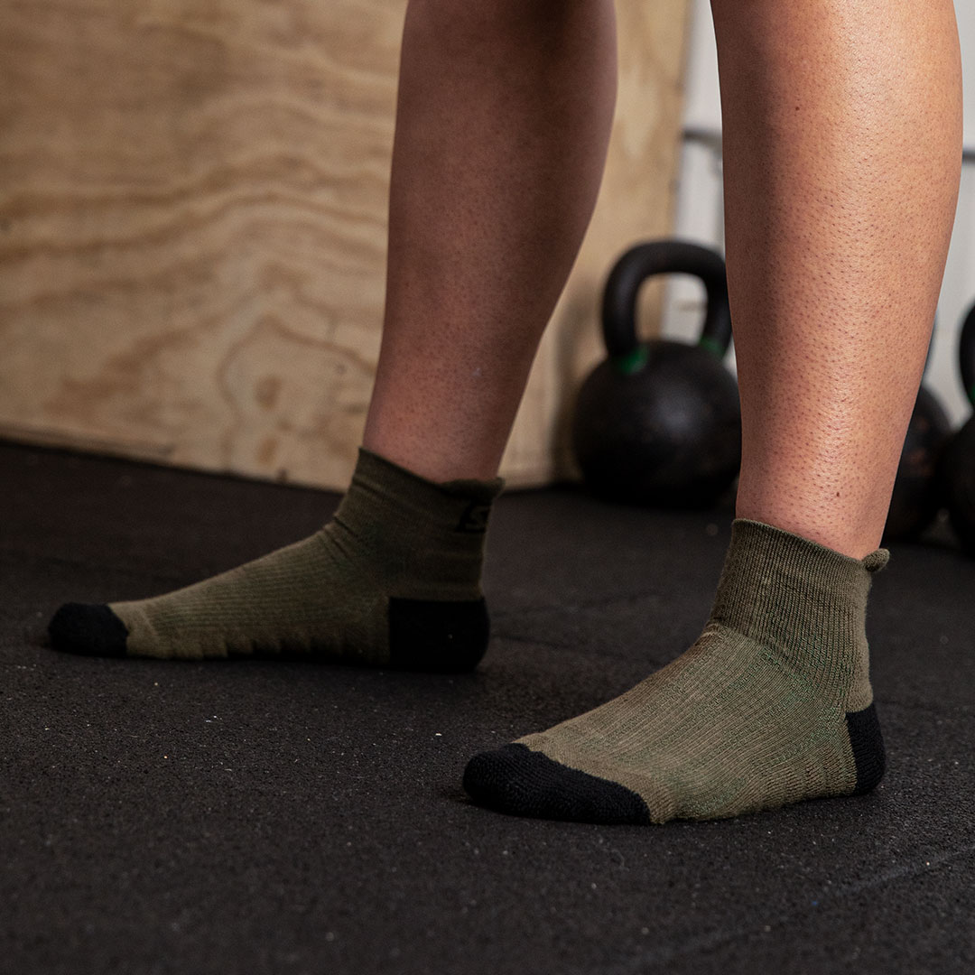Trainer Socken Endure Olive