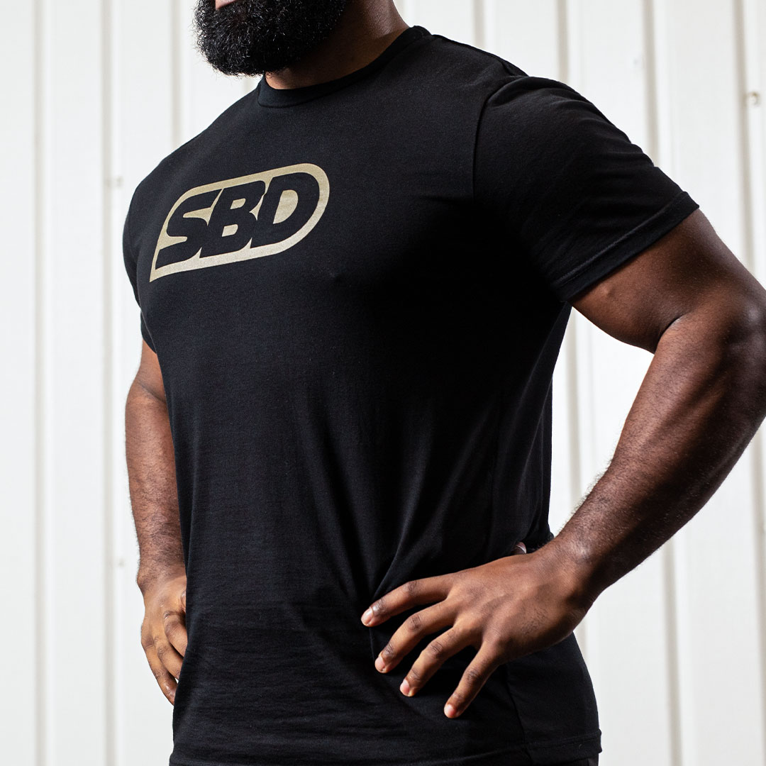 T-Shirt Endure Schwarz Männer