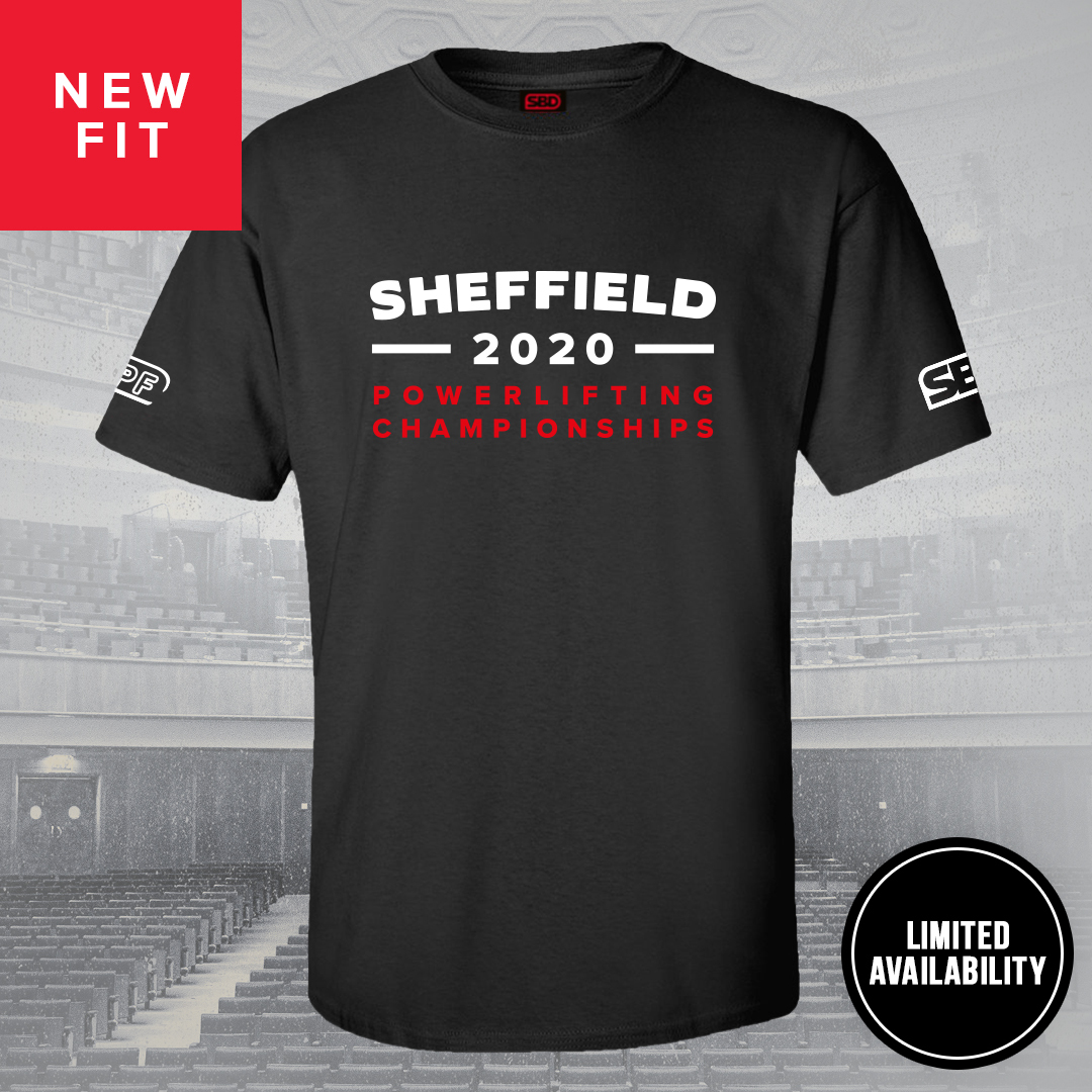 Sheffield 2020 Competition T-Shirt Männer