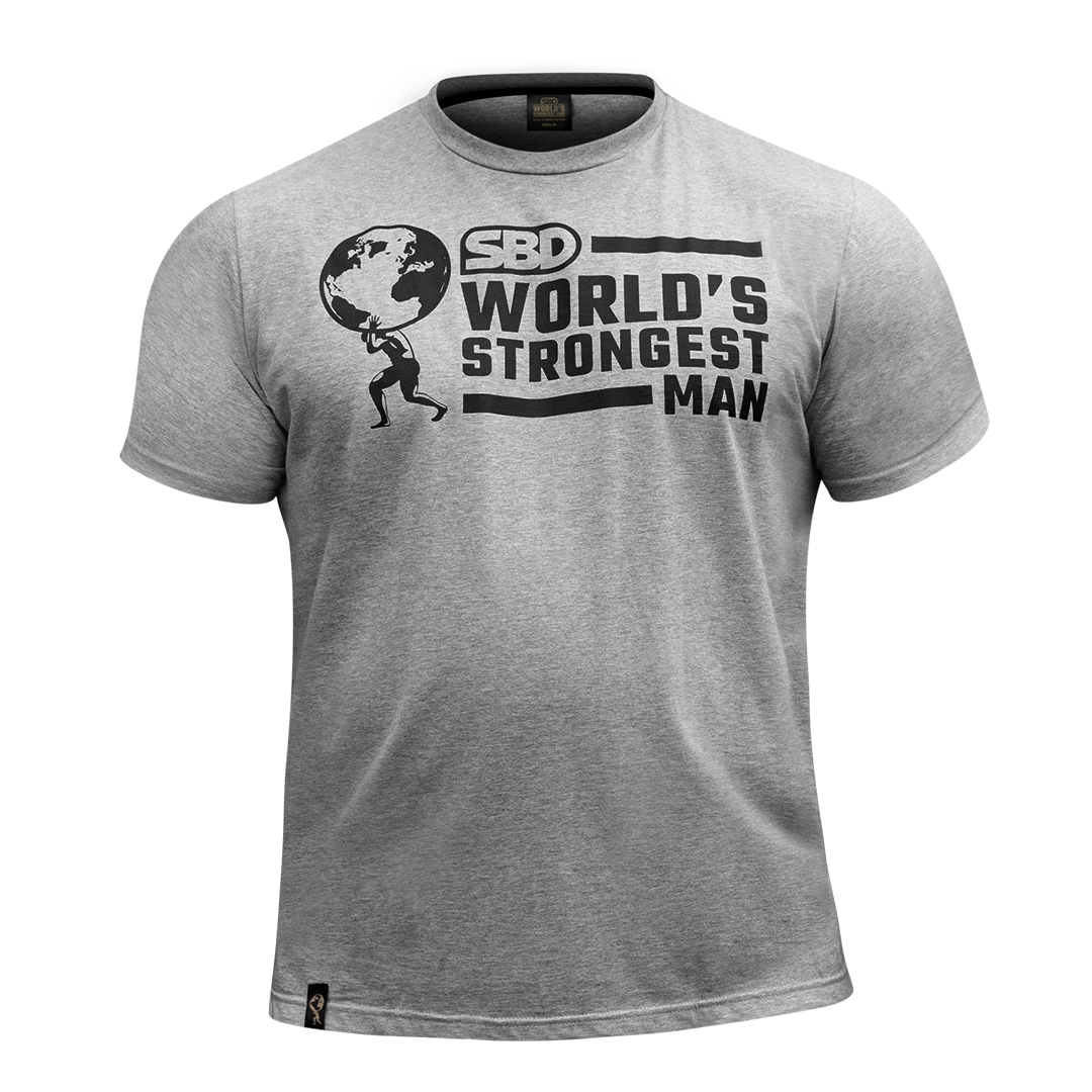World's Strongest Man T-Shirt Männer