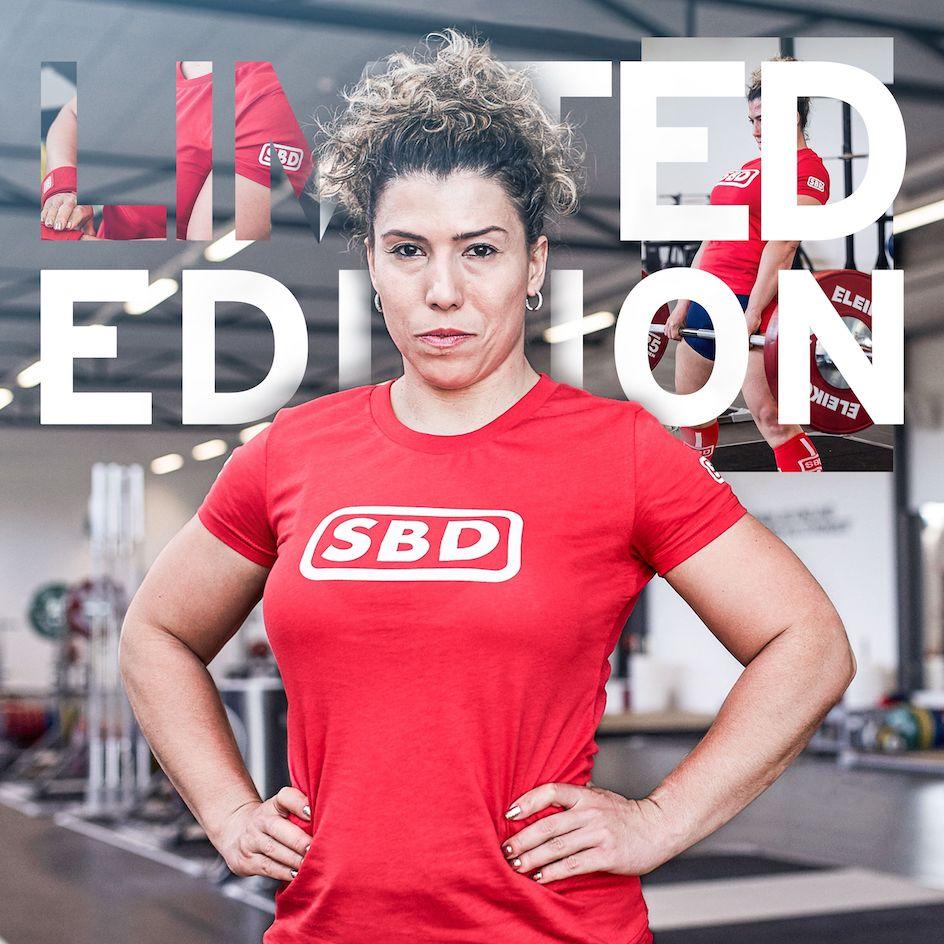 T-Shirt Limited rot/weiß Edition Frauen