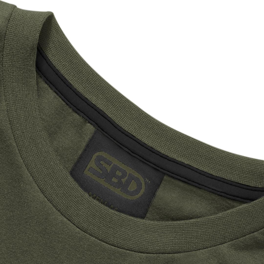 T-Shirt Endure Olive  Männer