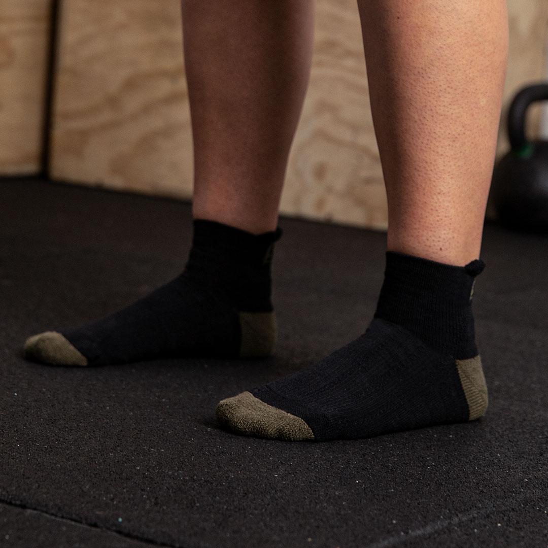 Trainer Socken Endure Black