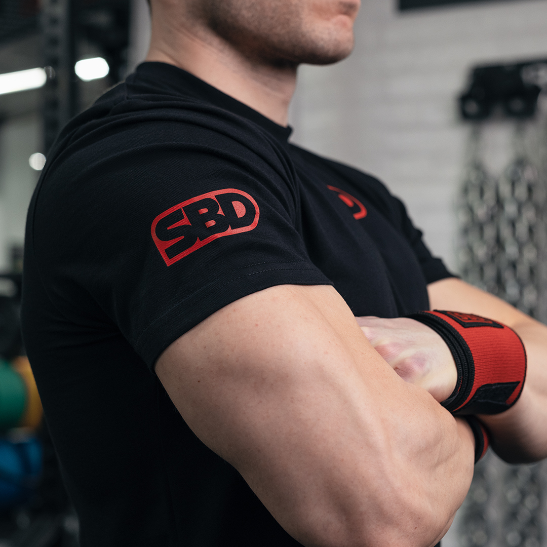 SBD Wettkampf T-Shirt  Männer
