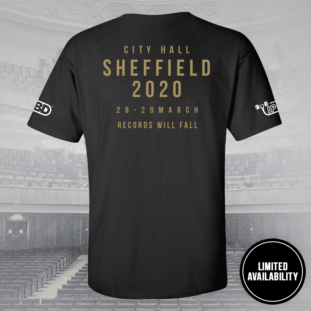 Sheffield 2020 Competition T-Shirt Frauen